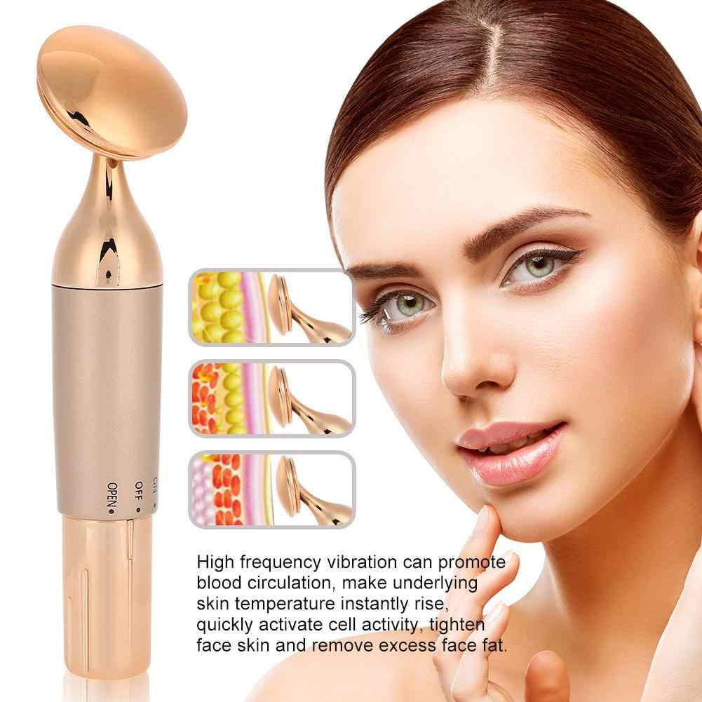 Ultrasonic Slim Lift Tighten Face Beauty Device Skin Spa Cleaner Massager Stick Lift Skin Tightening Wrinkle Removal Face CareB