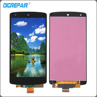 Black For LG Google Nexus 5 D820 D821 LCD Display Touch Screen Digitizer Assembly Tools Black