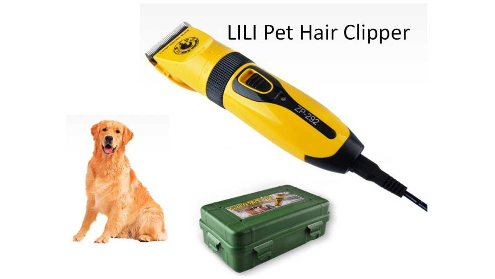 Lili Professional Rechargeable Dog Cat Hair Trimmer 110