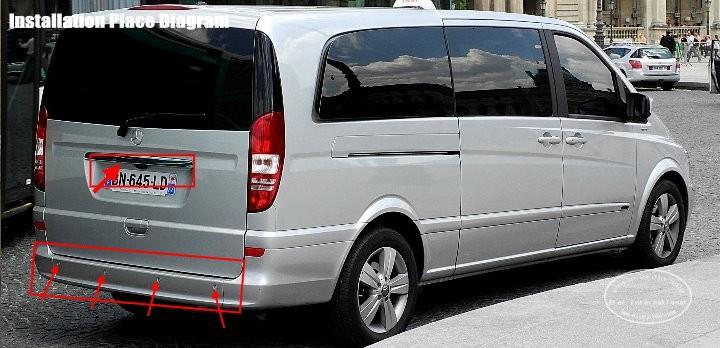 Mercedes-Benz-Viano-BIBI Alarm Parking System