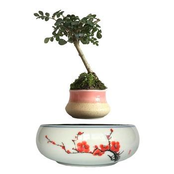 Lévitation pot de fleur Flottant Aimant Bonsaï Air Bonsaï Pots De Fleurs decoration 1