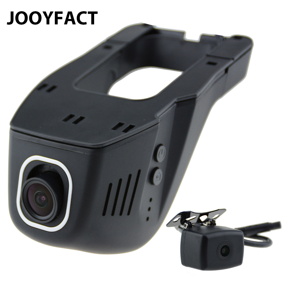 JOOYFACT A6 Car DVR Dash Cam Registrator Digital Video Recorder Camera Dual 1080P Night Version Novatek 96658 IMX 323 WiFi for mitsubishi pajero car driving video recorder dvr mini control wifi camera black box novatek 96658 registrator dash cam