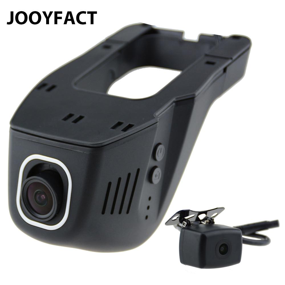 Jooyfact A6 coche DVR Dash CAM registrator videocámara digital cámara dual 1080 p noche versión Novatek 96658 IMX 323 wifi