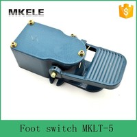 MKLT 5 Hot Sell Electrical Foot Switch For Floor Lamps Momentary Foot Switch Industrial Factory Sewing