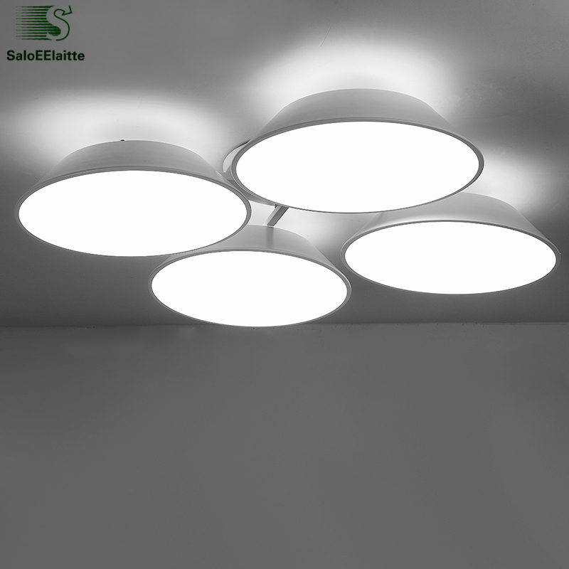 Modern Simple Metal Dimmable Led Ceiling Lights Lustre Acrylic Dining Room Led Ceiling Lamp Aluminum Led Lighting Light FixturesModern Simple Metal Dimmable Led Ceiling Lights Lustre Acrylic Dining Room Led Ceiling Lamp Aluminum Led Lighting Light Fixtures