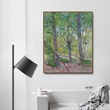 Trees July by Vincent Von Gogh Poster Print Canvas Painting Calligraphy Home Decor Wall Art Pictures for Living Room Bedroom недорого