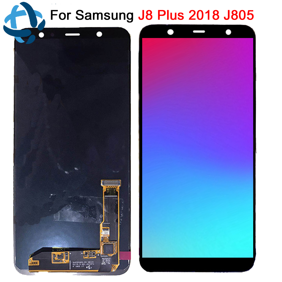 For Samsung Galaxy j8 Plus 2018 J805 LCD Display Touch Screen Digitizer Assembly For samsung J805 replacement lcd + ToolsFor Samsung Galaxy j8 Plus 2018 J805 LCD Display Touch Screen Digitizer Assembly For samsung J805 replacement lcd + Tools