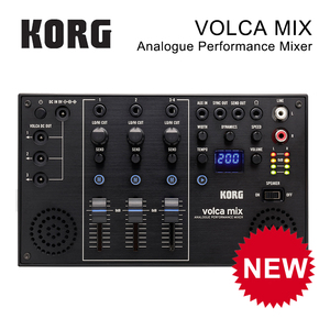 Korg Volca Mix Analogue Performance Mixer Compact Multi-Function Four-Channel Mixer(China)