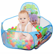 Children's Pop Up Hexagon Polka Dot Children Ball Play Pool Tent Carry Tote Toy suitable for 0 - 3 years old dropship CC#(China)