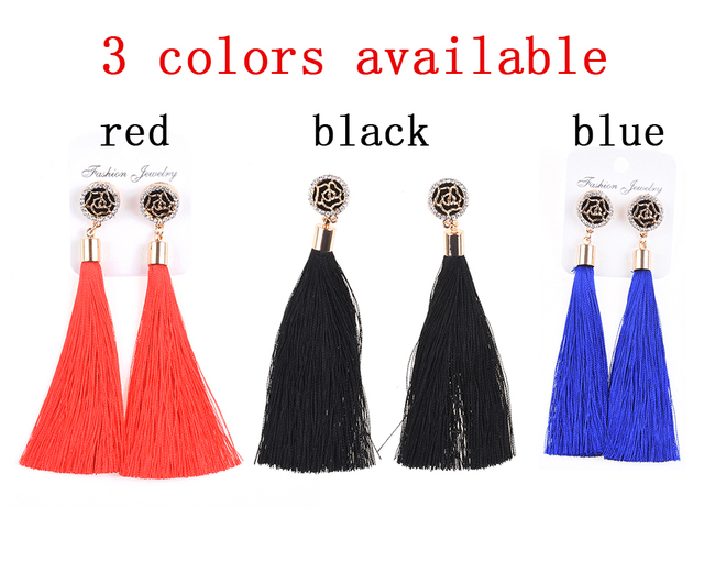 Ethnic Style Tassel Earrings