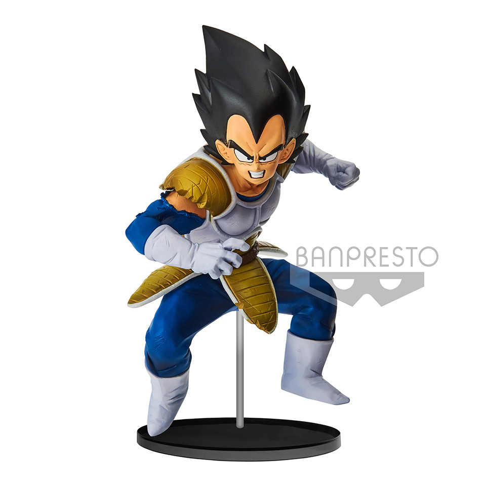 BWFC2 Tronzo Original Banpresto Action Figure Dragon Ball Vegeta Batalha Terno PVC Modelo Figura Brinquedos DBZ Vegeta Estatueta Jouets