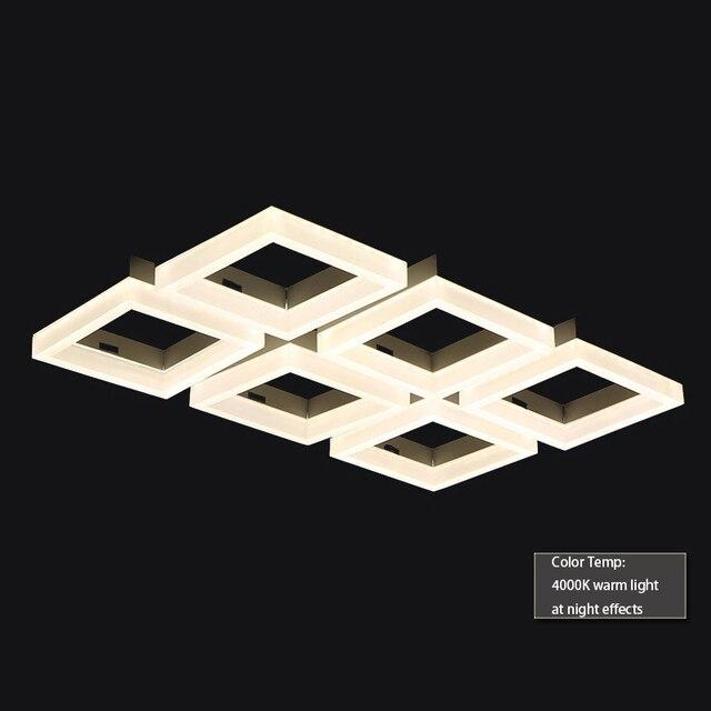 contemporary italian lighting. 70w Contemporary LED Square Pendant Lamp,italian Design Led Suspension  Light Lamp, Modern Indoor Contemporary Italian Lighting H