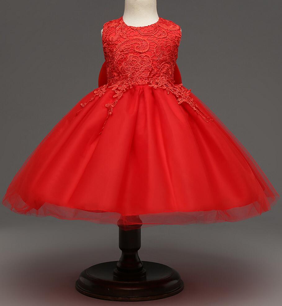 193a6329a Newborn Baby Party Wear Princess Dresses Kids Girls Clothes