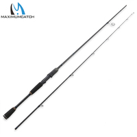 Maximumcatch Spinning Rod 2.1M/7' Lure Weight 7g 21g Fast Action 2Pieces Carbon Fiber Fishing Carbon Line 4 20lbs