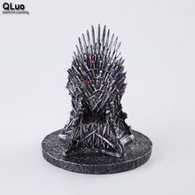 Game of Thrones Iron Throne Wakanda Collection figure Home Decoration statues Creative Game Model Phone Holder  Kids Gift the iron throne model in game of thrones figure collective toys