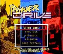 Power Drive 16 bit MD Game Card For Sega Mega Drive For SEGA Genesis