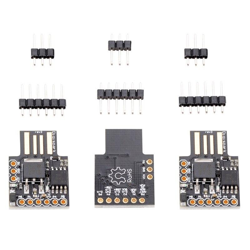 3x Digispark Kickstarter Micro USB Development Board for Arduino Attiny85