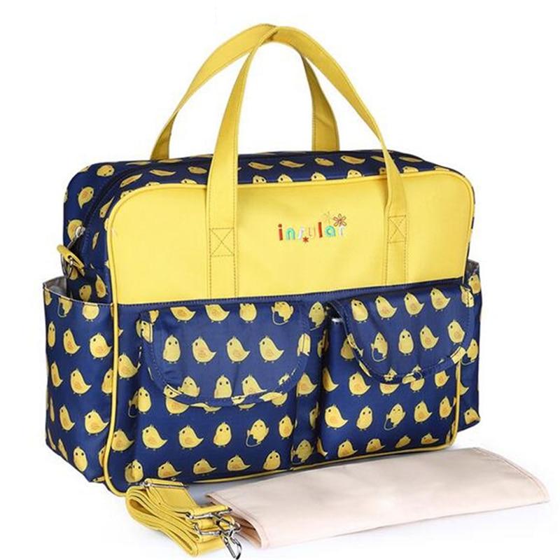 HTB1OKMOLIfpK1RjSZFOq6y6nFXat Mummy Maternity Nappy Bag Stroller bolsa Large Capacity Baby Travel Backpack Mommy Nursing Bag Baby Care Changing Diaper Bag