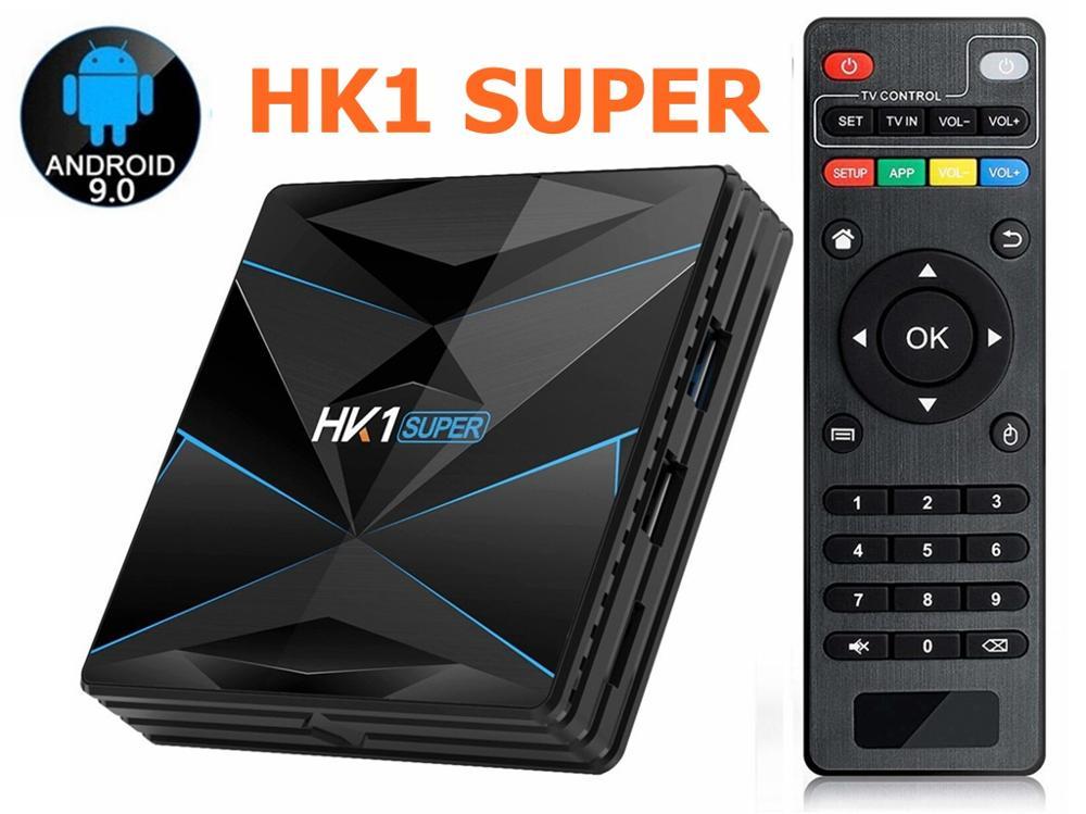 5pcs Android 9 0 HK1 Super Smart TV Box RK3318 Quad Core 4GB 128GB Max 2