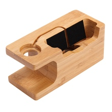 100% Wooden Phone Holder Stand For iPhone