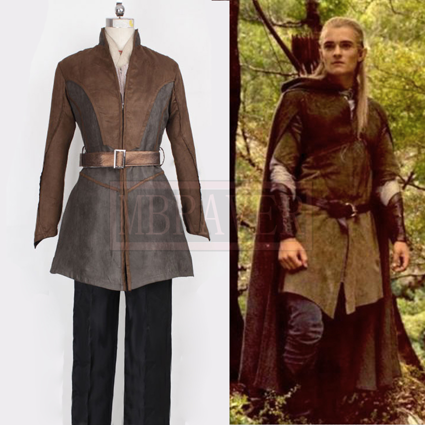 The Hobbit Cosplay Prince Legolas Cosplay Costume Any Size ...