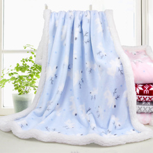 Mother Nest Flannel Blanket for Baby Swaddling Autumn Winter