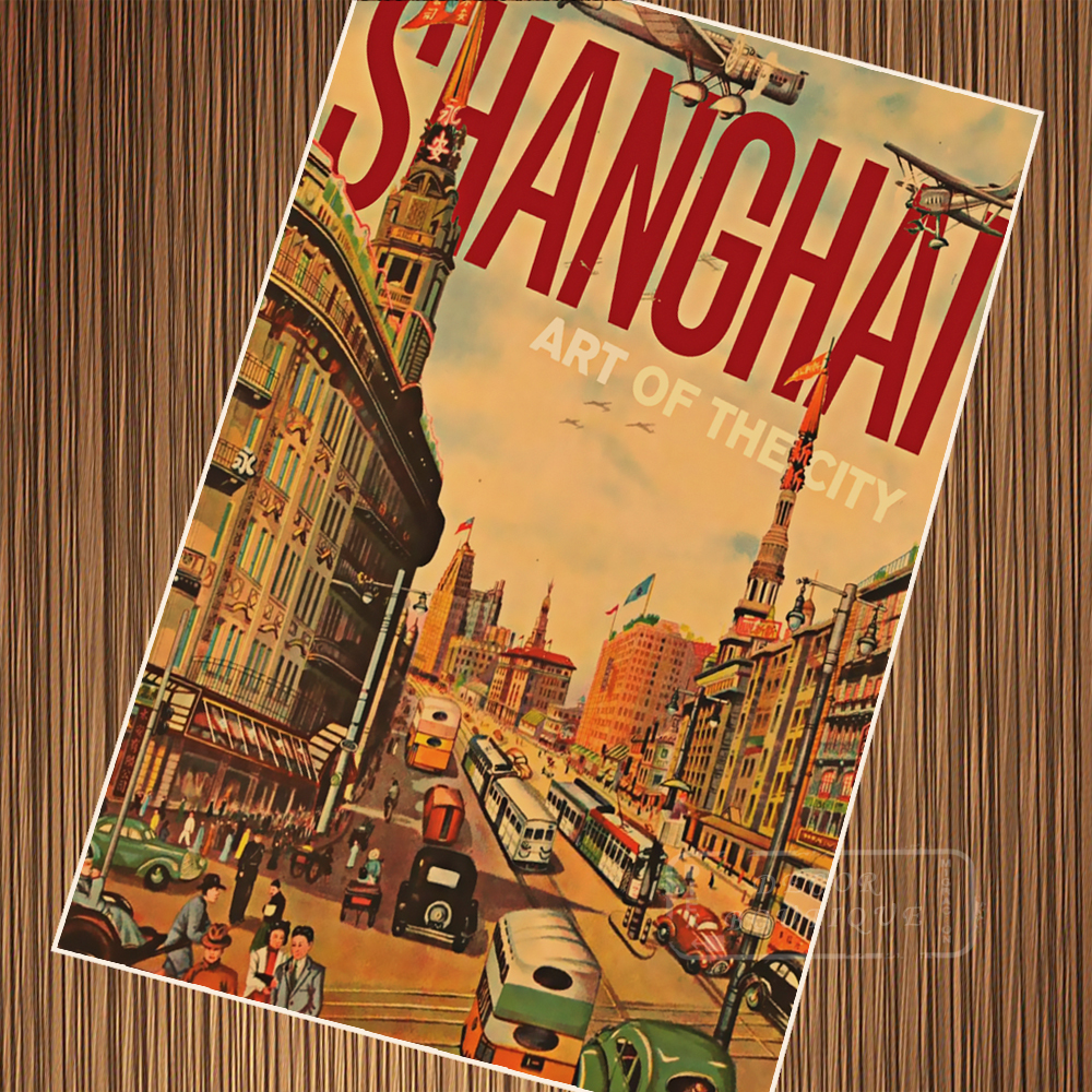 Old Shanghai 1930s History China Travel Tour Retro Vintage