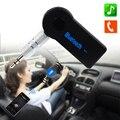 Bluetooth inalámbrico Adaptador de 3.5mm AUX Audio Estéreo Receptor de Música Inicio Alquiler Mic Para MP3 Del Teléfono Del Envío Libre