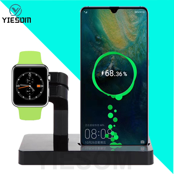 2 IN 1 Type C Charging Dock Station Stand Holder Charger For Huawei Mate 20 Pro P30 P20 Lite Samsung S10 S9 S8 Xiomi Mi 9 8 Lite