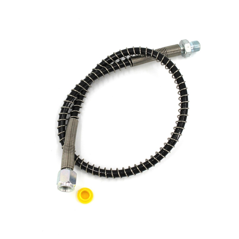PCP Airforce Pneumatics Pump High Pressure Hose Nylon Air Refilling 50cm Hose With Spring Wrapped M10x1 Male Female Thread