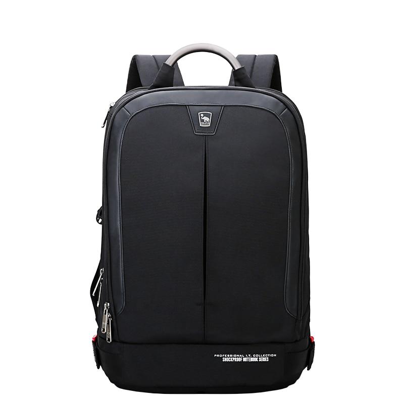OIWAS OCB4502 Waterproof Backpack Shockproof Laptop Storage Carrying Bag Large Capacity Shoulder Bag Travel Metal Handlebar oiwas large capacity multifunctional men women backpack waterproof 15 inch notebook laptop shoulder bag