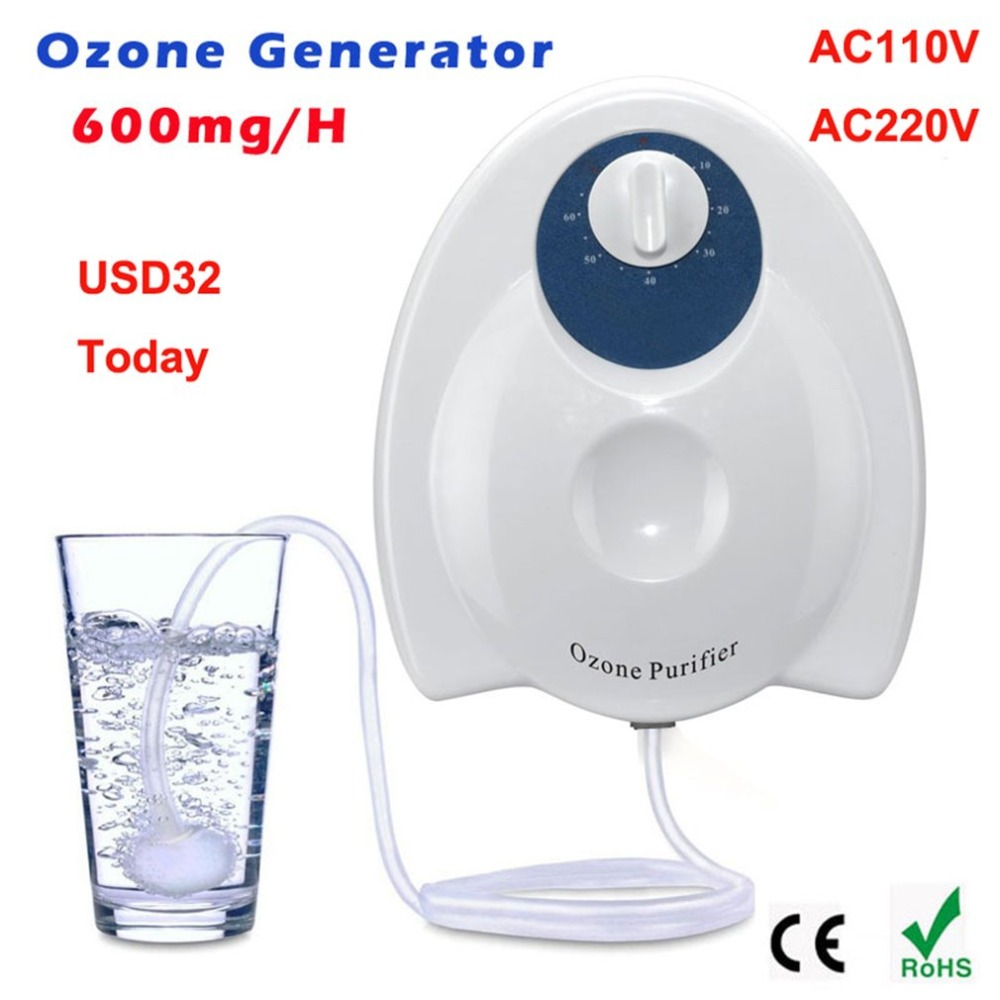 Ozone Purifier Ozone Generator Water Fruit Vegetables Food Sterilizer Air Purifier Water Ozonizers Food Preparations ozone lepton