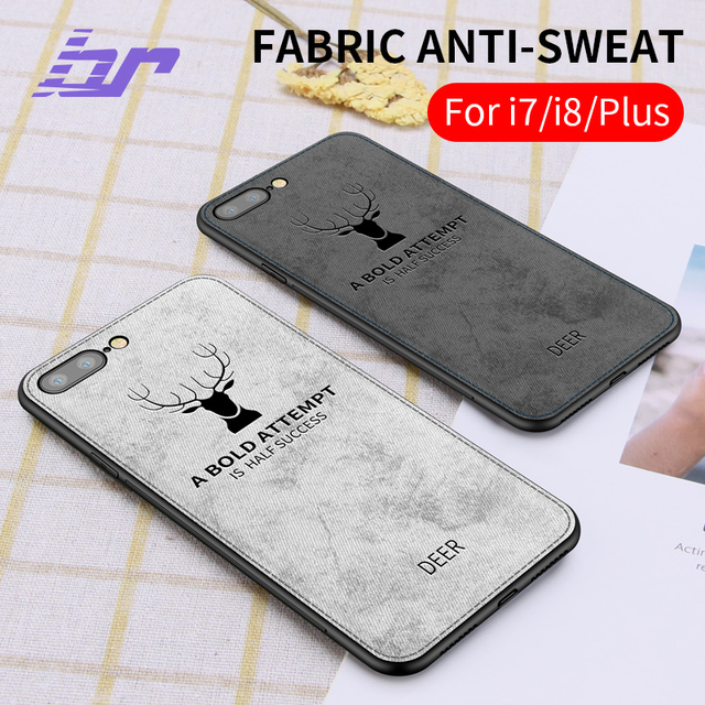 low priced a24b0 1cc3c US $8.31 |BR 3D Print Fabric Case For iPhone 8 7 6s 6 Plus Cases Anti sweat  Back Animal Cover Case For iPhone 7 Plus 8 Soft TPU Edge Case-in Fitted ...