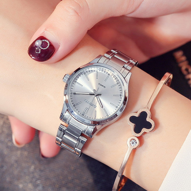 GIMTO Brand Luxury Bracelet Women Watches Waterproof Steel Silver Female Clock Dress Ladies Quartz Wrist Watch relogio feminino dom brand luxury women watches waterproof tungsten steel bracelet fashion quartz silver ladies watch relogio feminino