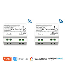 Tuya Smart Life Wi-Fi выключатель света Alexa Echo, Google Home Голосовое управление, 10A, дистанционное управление светом ПО App, набор таймера для лампы