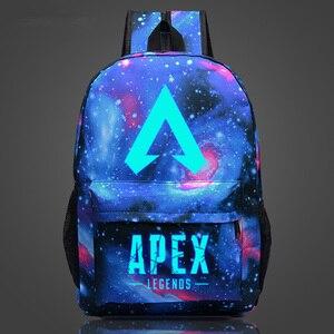 Image 4 - 새로운 도착 뜨거운 게임 apex 전설 배낭 여행 학교에 대 한 빛나는 배낭