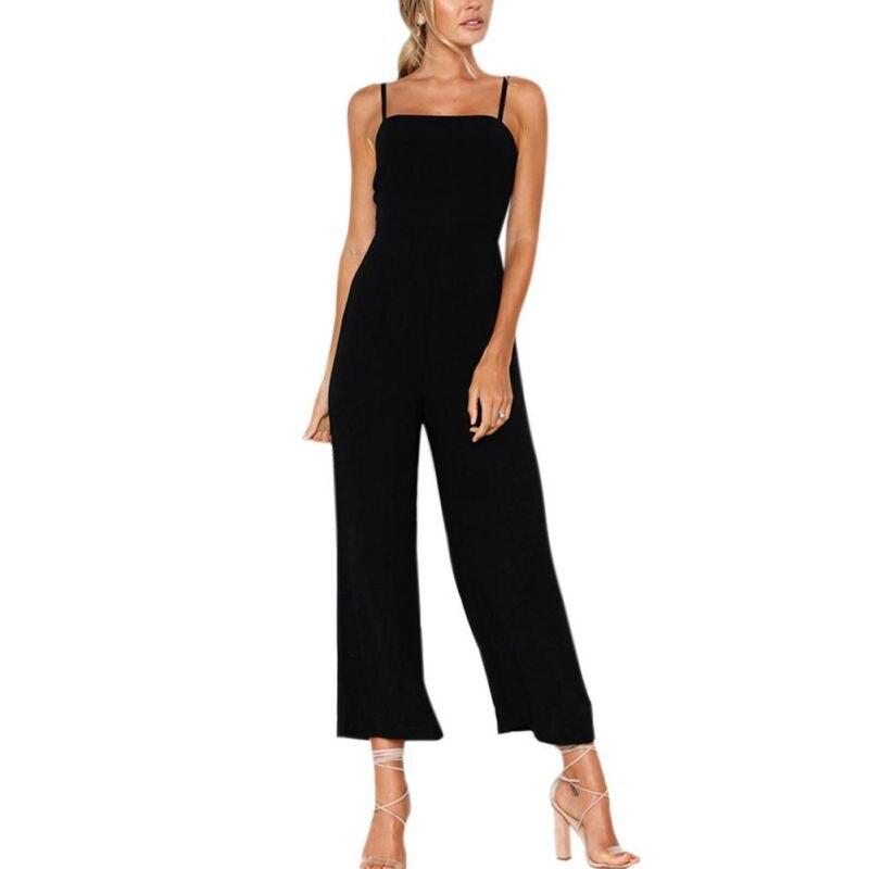 Для женщин летние ботильоны-legth Брюки для девочек Комбинезоны для женщин Однотонная повседневная обувь обычную одежду женские мягкие без р... ...