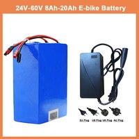 Custom 24v 36v 48v Electric Car Lithium Battery 10AH 12AH 15AN 20AH Capacity