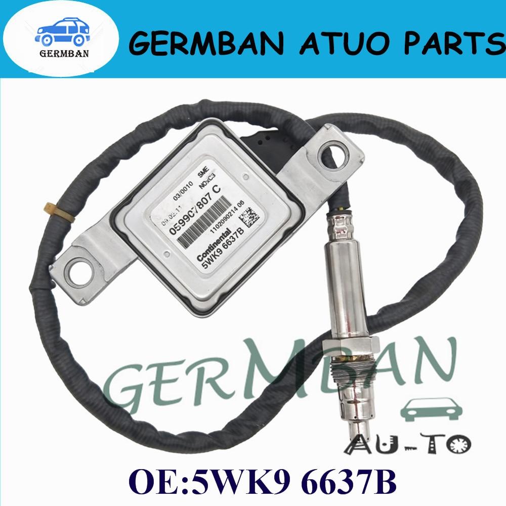 Nouvelle Fabrication D'oxyde D'azote Nox Capteur 059 907 807 C Pour VW Audi Q7 4L A6 4g C7 A8 4 H PartNo #5WK9 6637B 5WK96637B