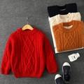 Дети одежда свитер мальчик девочка кашемировый свитер с толщиной цвет зима