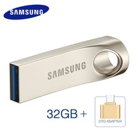 SAMSUNG BAR USB Flash Drive 32GB 64GB 128gb USB 3 0 Metal Pen Drive Pendrive Flash