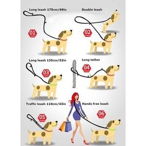 Image 2 - Truelove 7 In 1 Multi Function Adjustable Dog Lead Hand Free Pet Training Leash Reflective Multi Purpose Dog Leash Walk 2 Dogs