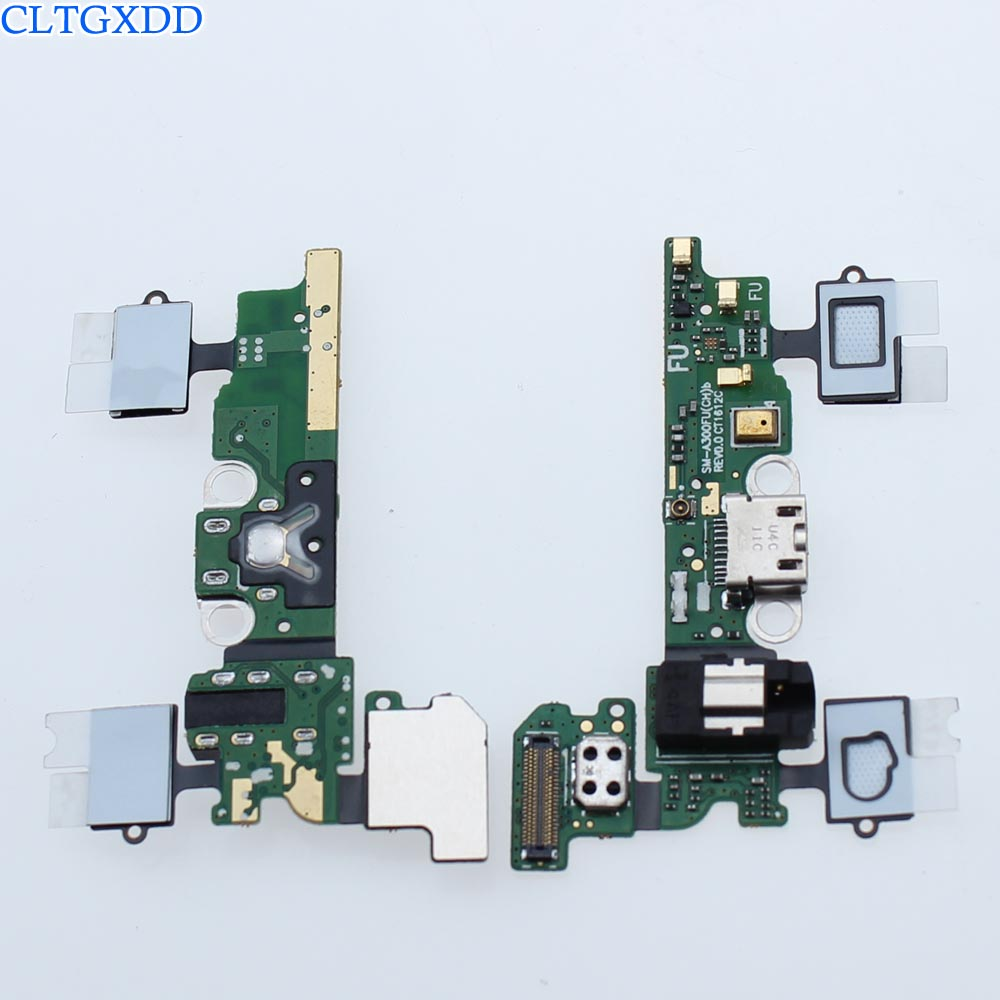 cltgxdd For Samsung Galaxy A3 A300F SM-A300F Dock Connector Micro USB Charger Charging Port Flex Cable Replacement Parts micro usb charging port charger dock for lenovo yoga tablet b8080 plug connector flex cable board replacement