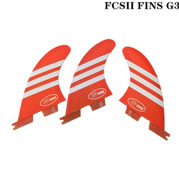 Surf Fins FCS2 G3 Red/Blue/White/Green Surfboard Honeycomb Fins Tri fin set fcs fin Fibreglass surf fins fcs2 g3 blue surfboard honeycomb fins tri fin set fcs fin fibreglass