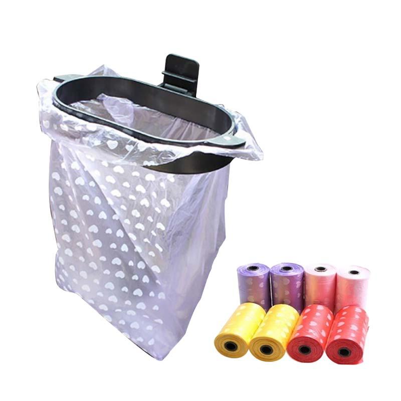 Bag Bucket-Accessories Car-Clips Waste-Organizer Car-Trash-Bin-Frame Auto-Garbage-Bin