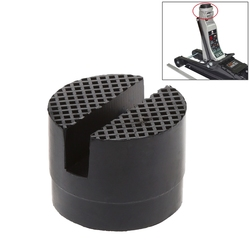 Floor Slotted Car Rubber Jack Pad Frame Protector Adapter Jacking Disk Pad Tool for Pinch Weld Side Lifting Disk