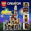 Lepin 16008 Creator Cinderella Princess Castle City 4080Pcs Model Building  Block Kid Toys Gift Compatible 71040