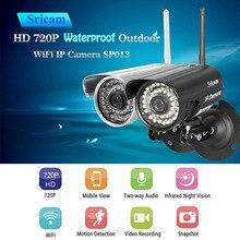 Sricam SP013 HD IP Камера Беспроводной Водонепроницаемый ONVIF Wi-Fi Наружного видеонаблюдения Камера Wi-Fi Инфракрасный Камеры Скрытого видеонаблюдения Мониторы