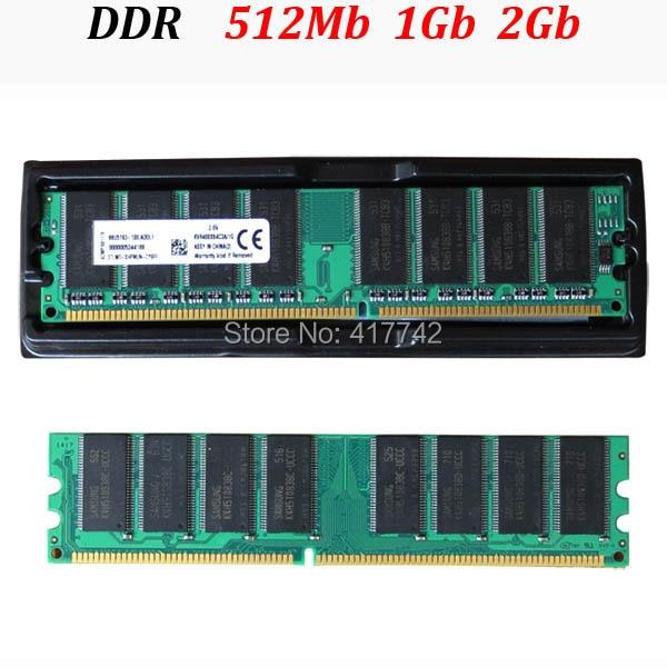 (para AMD y todos) memoria de escritorio DDR RAM 400Mhz 333Mhz 266Mhz - 512Mb 1Gb 2Gb / 512 1G 2G - garantía de por vida - buena calidad