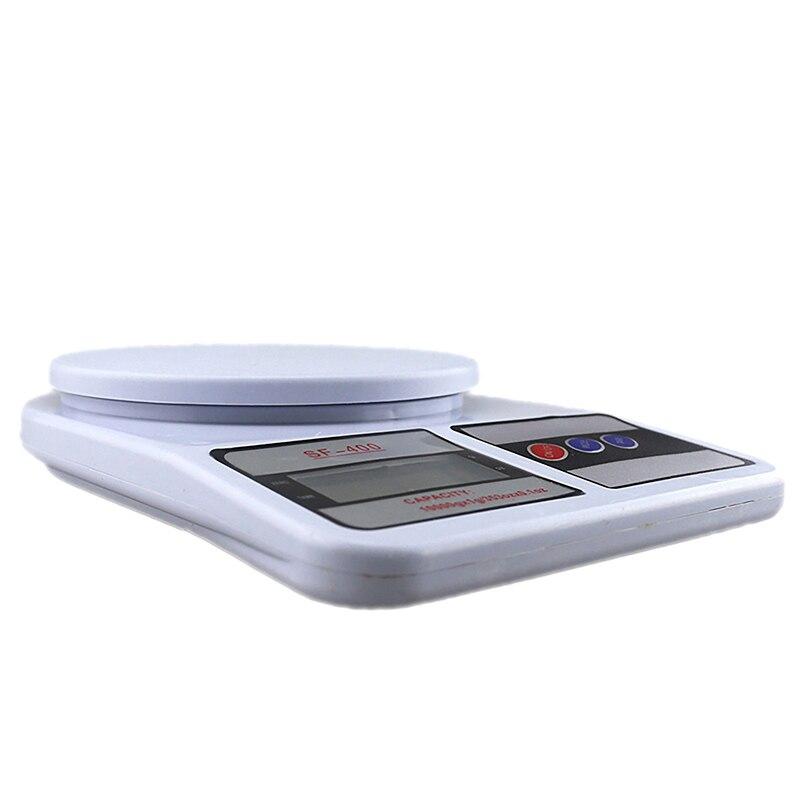 Портативные цифровые весы 10 кг 1 г, электронные весы с ЖК-дисплеем, кухонные весы, почтовые пищевые весы, измерительные весы, весы-1